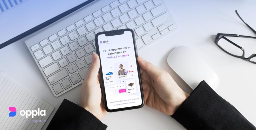 Opp.la, la plateforme pour créer votre application mobile en 5 minutes
