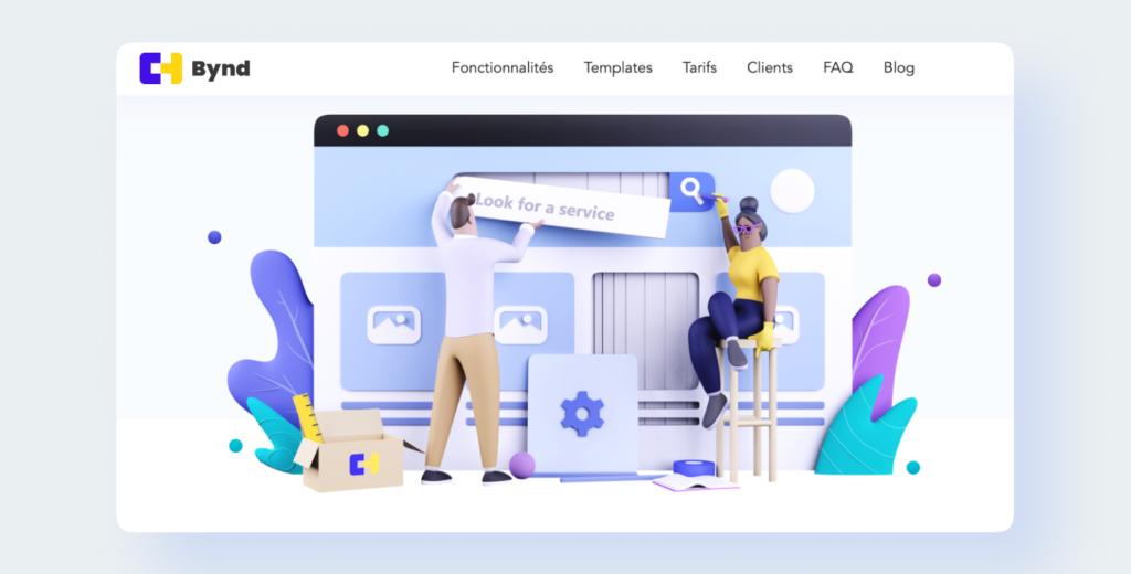 Bynd, la plateforme pour créer votre marketplace en 1 clic