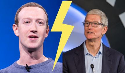 Apple contre Facebook