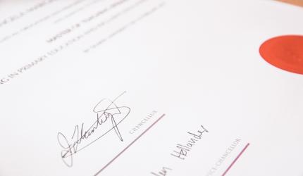 papier de certification